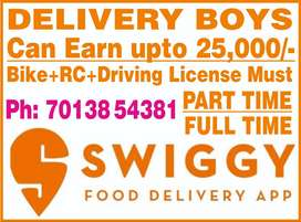 Delivery Boys Recruitments