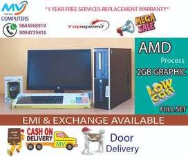 graphic-2gb-warranty%computer*cpu#4gb ram#500gb HDD*offer sale fullset