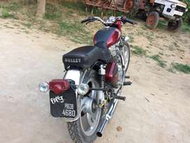Royal enfield bullet cherry color model 2006 ,amount rs 95000