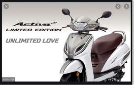 Honda Activa 5G Limited Edition on Low DownPayment and Rate of Interes