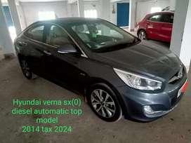 Hyundai Verna CRDi 1.6 SX Option Automatic, 2014, Diesel