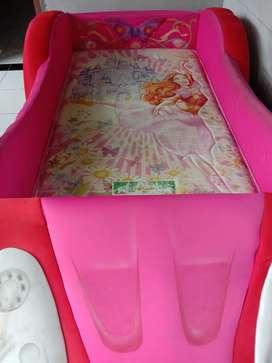 Kasur mobil motif barbie