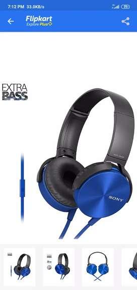 Sony extra bass headphone