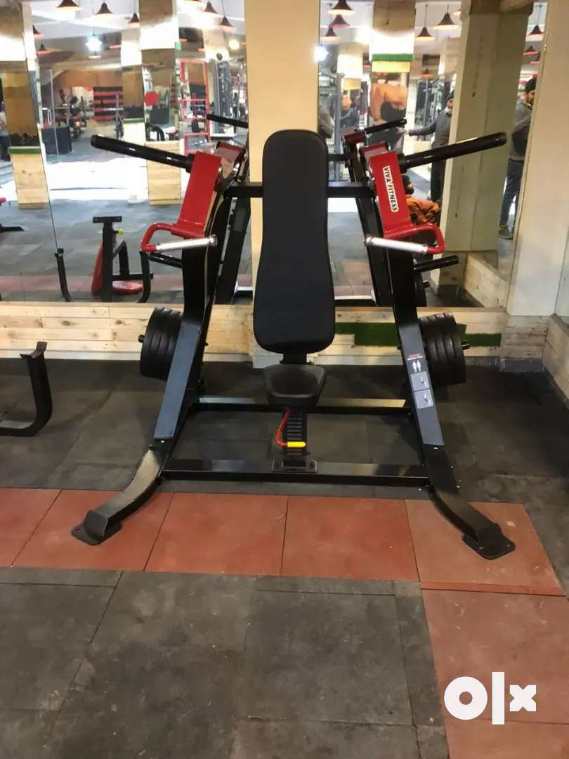 Gym equipment strength and cardio station available 0