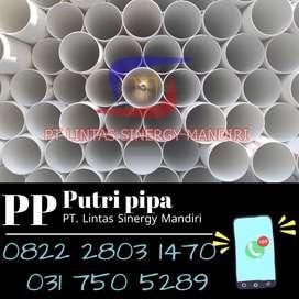 Promo Pipa PVC Termurah Ready Kawasan Gresik