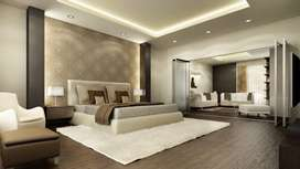 All typs of decore wood work vinyle work walls bed&drawing room etc