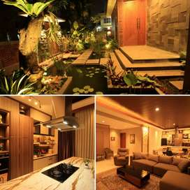 Rumah Villa gaya Bali Mewah Bekasi utk koleksi jatiwaringin jatimakmur