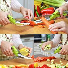 2 in 1 Clever Cutter for Kitchen