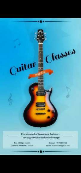 Guitar classes with Atul