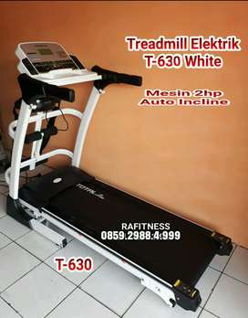 Alat Treadmill Elektrik 3 Fungsi Automatic Incline