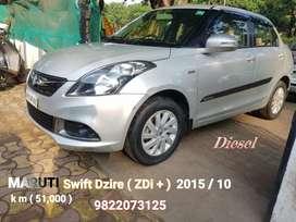 Maruti Suzuki Swift Dzire ZDI Plus, 2015, Diesel