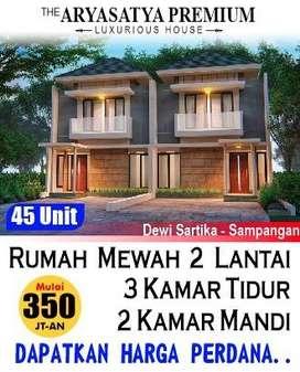 Rumah strategis di Sampangan, The Aryasatya Premium. Mulai 360jt!