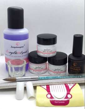 Professional Nail Art Acrylic Kit High Quality Liquid With Primer