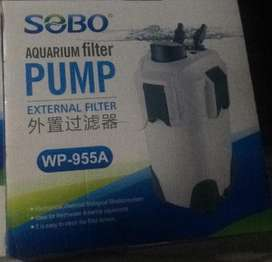 Jual filter aquarium sobo canister wp 955a