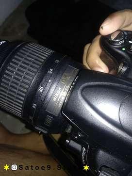 jual kamera nikon d5000 fullset like new
