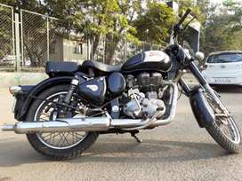 My bullet has a choise number plate and give a good average a mileage.