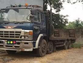 Truck/truk Selfloader Hino ranger trinton 97 Dobel gardan siap kerja