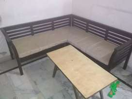 New condition 5seater lobby seat