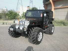 Modified open jeep