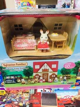 Mainan anak sylvanian families baru yah