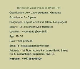 Voice Process