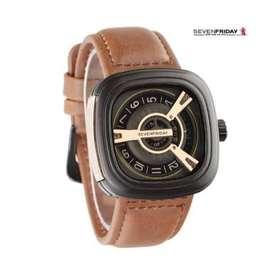 jam Tangan Pria Seven Friday Premium - Hitam