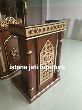 Mimbar masjid jati original
