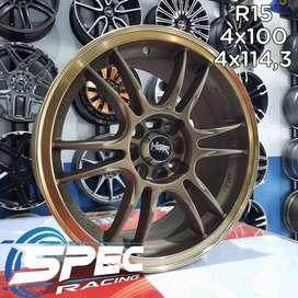 Pelek Mobil Datsun Go Ring 15 HSR Bisa Dicicil d Toko Velg Mobil Medan
