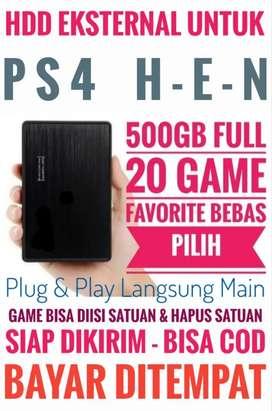 HDD 500GB Mantap Harganya Murah FULL 20 Game Terlaris PS4 Bebas Pilih