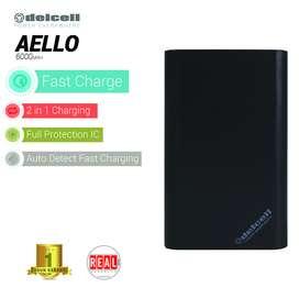 Delcell AELLO Powerbank 6000mAh
