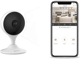 Cue 2 Wireless IP Camera with, Mic, Speaker, Mobile Online