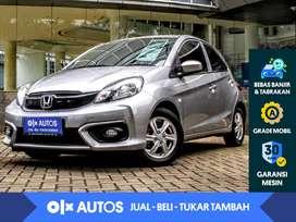 [OLX Autos] Honda Brio 1.2 Satya E A/T 2016 Abu-Abu