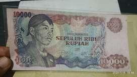 Uang 10 ribu sudirman