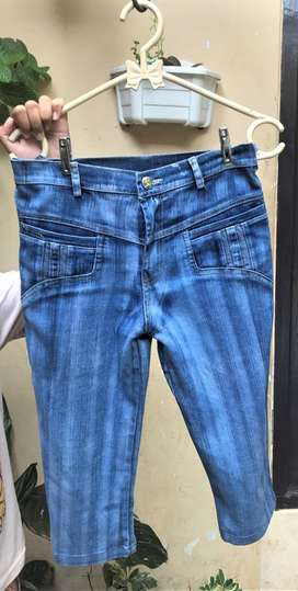 Celana jeans/denim anak perempuan Navy 5-8th