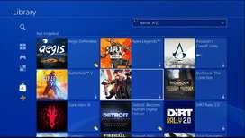 Jual Satu Akun PS4 Banyak Games