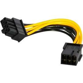 Konverter Kabel Power PSU VGA 6 pin to 8 pin