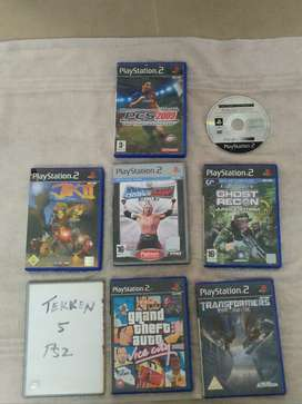 PS 2 original cds