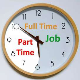 Part time and full time job.work from home