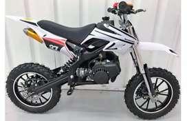 *Kids(5 to 15 yrs)50cc 2 stroke dirt bikes*