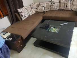 sofa L styel h odr pa bana h with out table