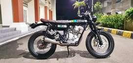 Custom Yamaha Scorpio 225cc | japstyle caferacer scrambler