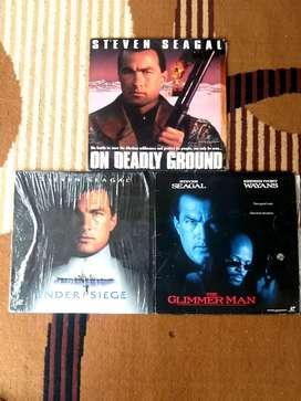 Laserdisc film Steven Seagal