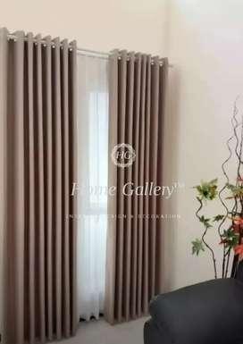 Tirai gorden Blackout model minimalis modern klasik