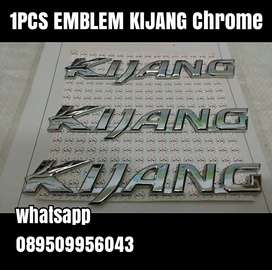 1PCS EMBLEM KIJANG Chrome