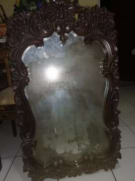 Cermin Antik Jati Asli Jepara