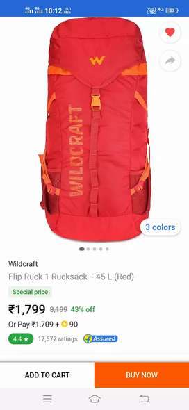 New bag Wildcraft