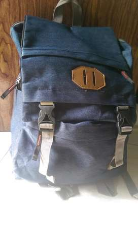 Tas ransel Biru navy model export