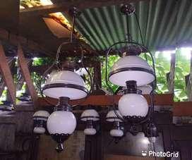 Lampu hias gantung antik lampu lawasan lampu joglo lampu pendopo