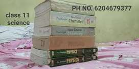 Class 11 science books (good condition)