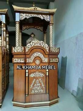 Ready Mimbar Masjid Siap Kirim #TP8